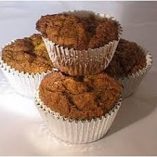Healthy Carrot Muffins/cake (made these, a little doughey, used 1/3 c oil)