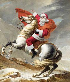 Quand Le Père-Noël s'invite dans la peinture classique
