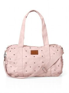 Studded Mini Duffle Bag