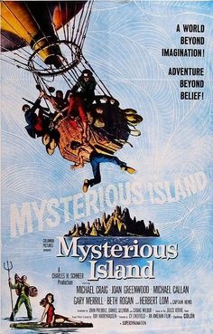 Mysterious Island (1961) ~ One of my favorite movies from childhood (and another Harry Harryhausen flick) ~ 10/13/12