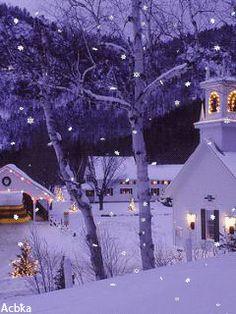 WINTER SNOW GIF ❄️