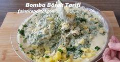 Bomba Börek Tarifi | Renkli Hobi Cantaloupe, Potato Salad, Mashed Potatoes, Grains, Fruit, Ethnic Recipes, Food, Portal, Whipped Potatoes