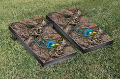 Delaware Fightin' Blue Hens Mossy Oak Bag Toss Cornhole Game