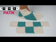 puzzle booties/patchwork booties/knitting slippers for beginner/Figen Ararat - F. - puzzle booties/patchwork booties/knitting slippers for beginner/Figen Ararat – F… puzzle booties - How To Start Knitting, Easy Knitting, Loom Knitting, Knitting Socks, Knitting Patterns, Crochet Patterns, Crochet Designs, Knit Stitches For Beginners, Crochet For Beginners
