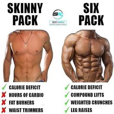 Skinny pack vs six pack by @smurray_32 - Visit the link in my bio to grab your Hollywood Abs workout.  While it is true that abs are made in the kitchen by eating to lose fat & get sufficiently lean enough for them to show if they arent developed enough t https://www.musclesaurus.com/