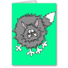 Cute Splatt the Cat Cards