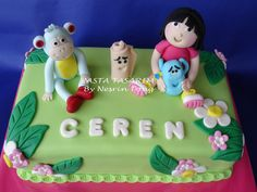 https://flic.kr/p/6JJkio | DORA THE EXPLORER CAKE