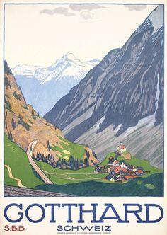 Gotthard, 1914