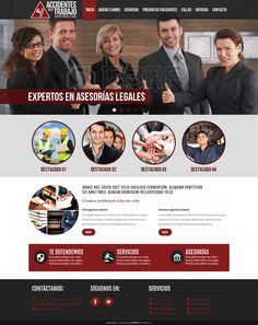 Maqueta de Sitio Web para Abogado