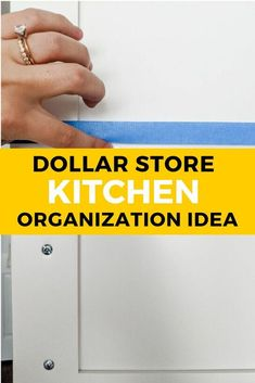 Quick Kitchen Organization Idea : If you hate having your measuring cups floating around in your drawers you'll love this kitchen organizing tip. Head on down to the dollar tree store for this kitchen organization hack idea for your cabinets. Declutter Your Home, Organizing Your Home, Organization Ideas, Storage Ideas, Tv Storage, Shelving Ideas, Record Storage, Organizing Tips, Garage Storage