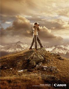 Werbeanzeige für Canon von Armstrong&Asociados