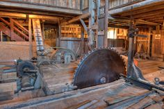 Old Circular Sawmills | Recent Photos The Commons Getty Collection Galleries World Map App ...