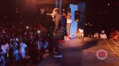 Ninja Man Birthday Bash/ Specialist, Thrills The Crowd With His Catchy Lyrics