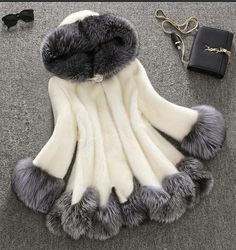 Shop Floryday for affordable faux fur coat. Floryday offers latest faux fur coat collections to fit every occasion. Fake Fur Coat, Long Faux Fur Coat, Faux Fur Hooded Coat, Hooded Parka, Hooded Jacket, Hooded Coats, Winter Jackets Women, Coats For Women, Pelo Casual