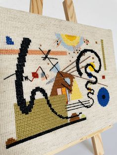 I used to avoid projects with backstitch. It was really not my thing and I did not have much experience doing it. However, when you … The post Cross stitch pattern with backstitch appeared first on easy peasy stitches. Easy Peasy, Cross Stitch Patterns, Stitches, Abstract, Artist, Projects, How To Make, Design, Summary