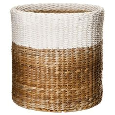 Threshold™ Color Block Round Woven Basket - 15x15""