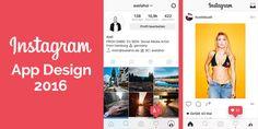 Instagram: Neues App Design 2016