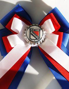 Rangers New York Rangers Rangers NHL Rangers Bow by bowsforme, $7.50