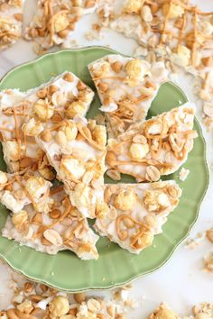 salted peanut butterscotch & caramel corn white chocolate bark 23