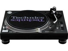 Panasonic SL-1210MK5 - Quartz Synthesizer Direct-Drive Turntable. the legendary (and discontinued) Technics 1200 Series grows up. I started DJing with these bad boys since the 80s. Its what real DJs used to play their music (vinyl) to get the parties started!