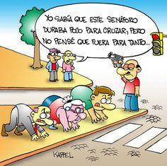 Ideas en el semáforo #imagendeldia - Cachicha.com