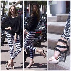 Bianka, FTV model in Baldowski shoes