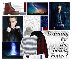 """""I don't think you're going to last ten minutes in this tournament"" - Draco"" by reason-for-friends ❤ liked on Polyvore"