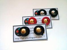 Botones dorados