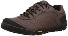 Hi-Tec Bartholo WP Walking Shoes - 8 - Brown ** Check this awesome product by going to the link at the image.