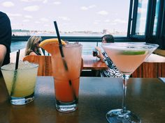 Drinks in Boston