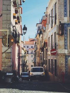 Straßen Lissabons