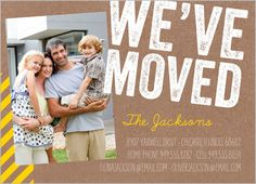 We've Moved Stamp 5x7 Stationery Card by jillgo | Shutterfly