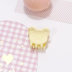 1PC New Cute Baby Girls Candy-color Hair Clips Bear Rabbit Small Hair Claws Headband Kids Hairgrips Lovely Hair Accessories