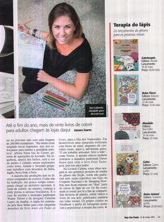 Até o fim do ano, mais de vinte livros de colorir para adultos chegam às lojas aqui. Veículo: Veja S. Paulo. Data 15.5.2015 Cliente: Editora Alaúde
