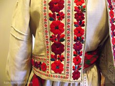 Yavoriv embroidery from the collection of Lviv Museum of Folk Architecture