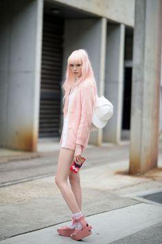 bowlcutgirl:  Fernanda Ly shot by Youngjun Koo via Nymag