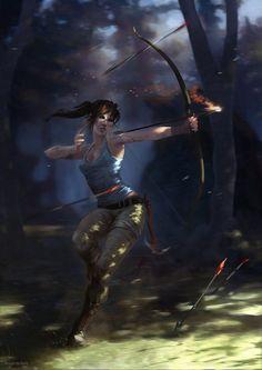 Lara Croft Art