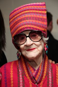 """many women are beautiful at ANY AGE!!    """"I hope I inspire people not to be afraid of being old -- really old. And not to feel empty about life, because life is worth living. Don't you think?""""  Indeed I do."""