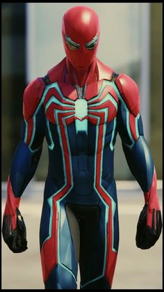 Use colors and lines if Armor design Marvel Comics, Marvel Heroes, Marvel Avengers, Spiderman Marvel, Spiderman Suits, Spiderman Spider, Amazing Spiderman, Iron Man Wallpaper, Superhero Design