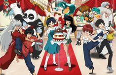 Inuyasha, Ranma Rumiko Takahashi<< It's funny how I love the ranma art but hate his anime, and love the inuyasha anime but hate the manga art *. Anime Crossover, Anime Love, Anime Manga, Anime Art, Sesshomaru Y Rin, Inuyasha Love, Anime Japan, Manga Artist, Animation