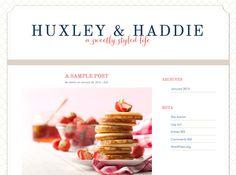 Huxley: Wordpress Blog Design Template