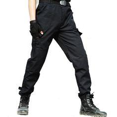 Cargo Pants Men Military Tactical Working Pants Men Workwear Working Clothes Combat Trousers Thin Black Pantalon Homme Plus Size