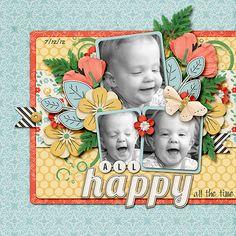 All Happy - Scrapbook.com
