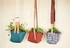 Kodin1, Tee itse yrittikeinu kangaspaloista ja vanhoista vöistä tai henkseleistä