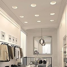 The ELEMENT Reflections Collection utilizes a first-of-its-kind technology in LED recessed lighting, combining decorative domes with glare-free indirect lighting. Recessed Downlights, Led Recessed Lighting, Indirect Lighting, Modern Lighting, Room Lights, Ceiling Lights, Element Lighting, Light Architecture, Interior