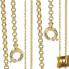 Our 9ct Gold is always 35% off at NWJ. These 9ct beauties are no exception!