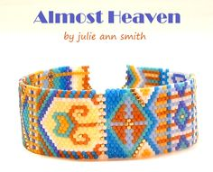 ALMOST HEAVEN Bracelet Pattern   Bead-Patterns