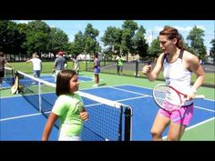 """Got the moves like Andrea Petkovic? Watch as she teaches the """"Petko Dance"""" to a youngster."""