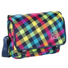 All Out Schultertasche Barnsley Rainbow Check
