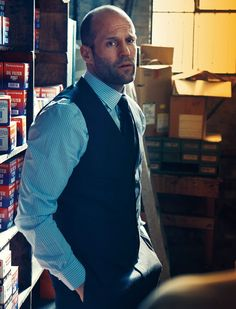 Jason Statham, un ejemplo a seguir. #style #hombres #elegance